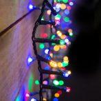 LED  fénygirland karácsonyfára, 8 méter