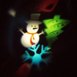 Az ünnep szimbólumai - Karácsonyi mintás projektor