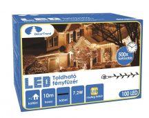 Toldható LED fényfüzér