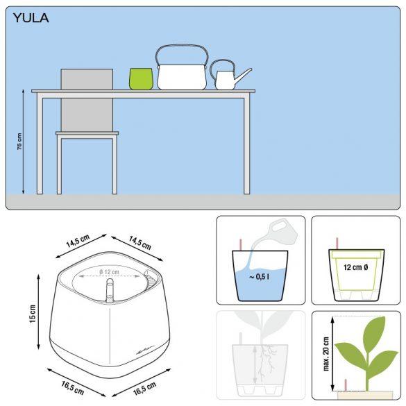 Lechuza YULA kaspó All-in-One Set