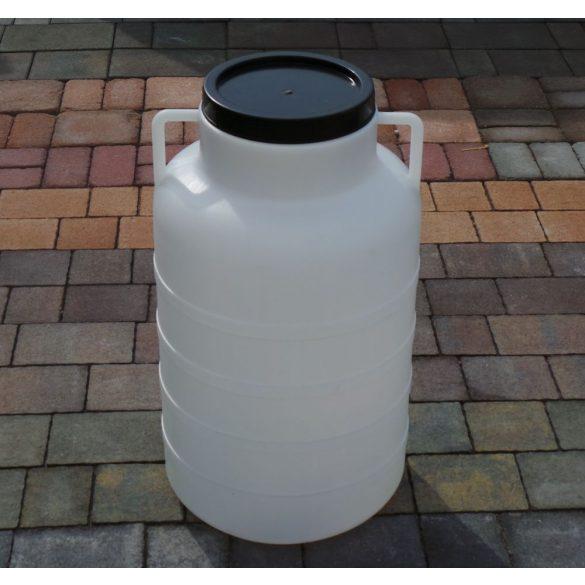 Műanyag hordó 60 Literes magasított