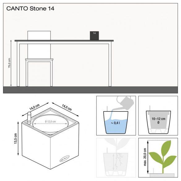 Lechuza CANTO Stone 14