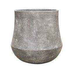Polystone Coated Darcy Raw Grey kaspó