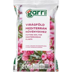"""GARRI""""C"""" Virágföld: Mediterrán 20 literes"""