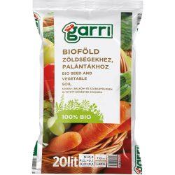 GARRI Bioföld palántákhoz és zöldségekhez 20 Literes
