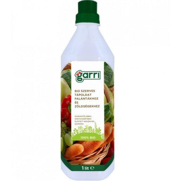 GARRI Bio szerves tápoldat palántákhoz és zöldségekhez 1 Literes
