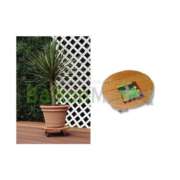 Flora roll Garden2 Görgős cserépalátét