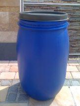 Műanyag Hordó 120 Literes Csattal