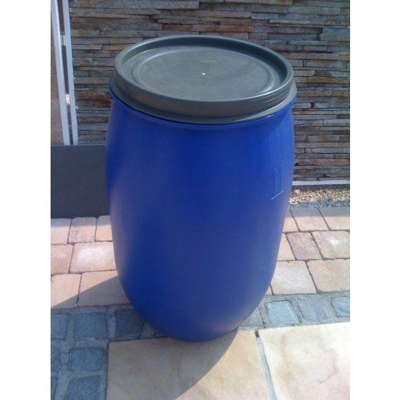 Műanyag hordó 220 Literes Csattal