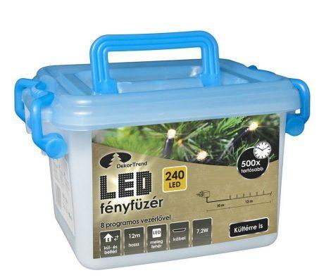 Kültéri LED Fényfüzér 240 égős