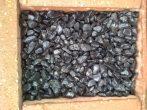 Kerti díszkavics  Fekete márványkavics 25 Kg