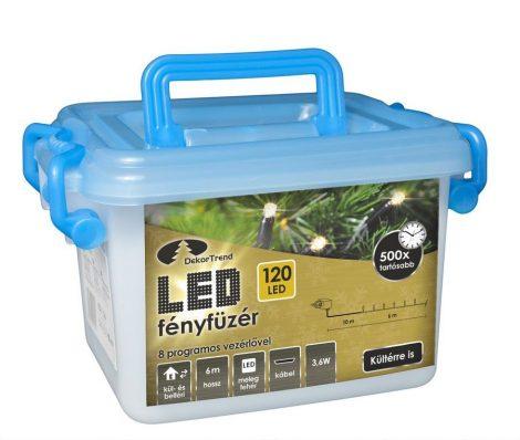 Kültéri LED Fényfüzér 120 égős