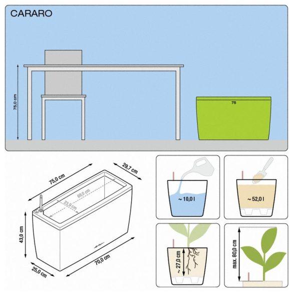 Lechuza Cararo önöntözővel+görgőkkel