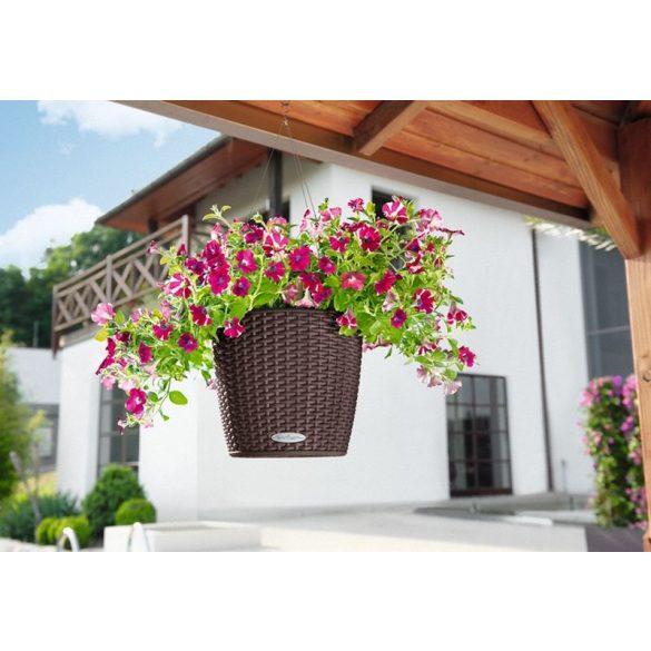 Lechuza NIDO Cottage kiemelhető belsővel és önöntöző készlettel