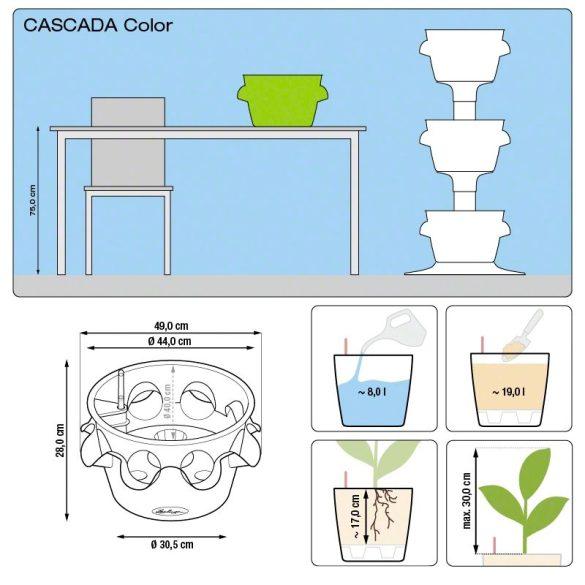 Lechuza Cascada Virágtartó önöntöző készlettel