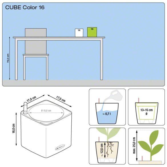 CUBE Color 14-16önöntözővel(puro)