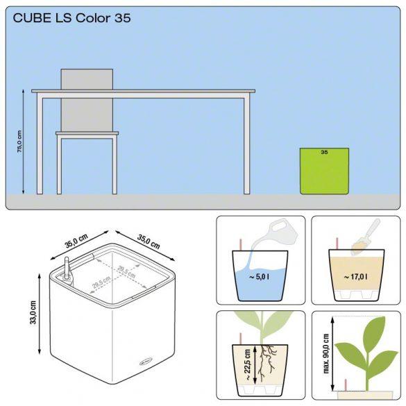 Lechuza Cube Color LS 35(Puro)