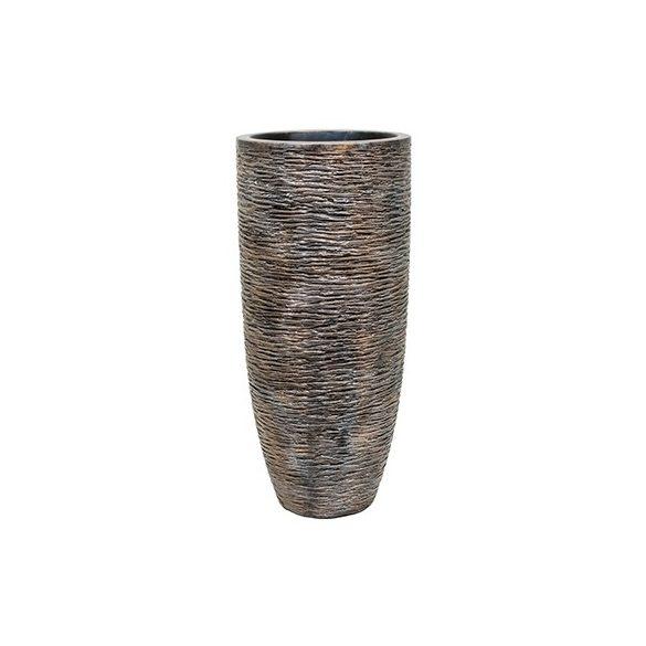 Luxe Lite Universe Wrinkle bronze kaspó