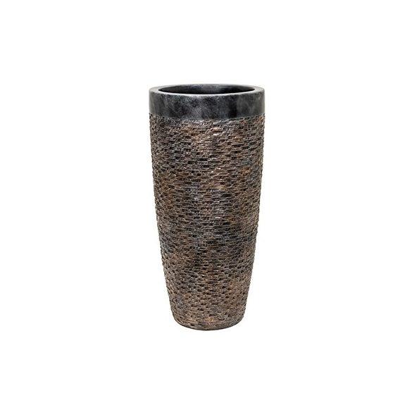 Luxe Lite Universe Layer bronze kaspó