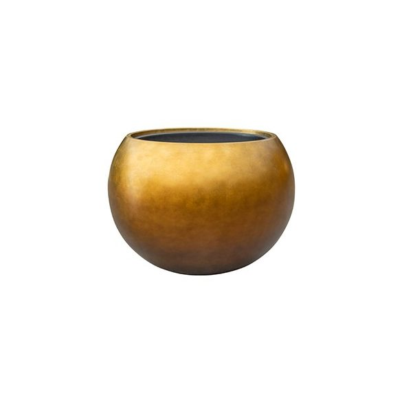 Metallic Globe Matt Honey kaspó