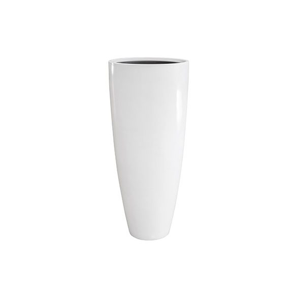 Partner White kaspó Ø40x90 cm