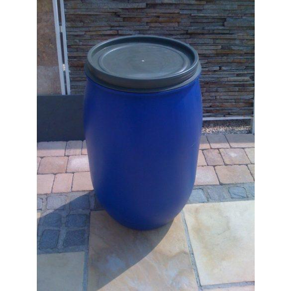 Műanyag hordó  60 Liter Csattal