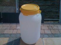 Műanyag hordó menetes tetővel 30 Liter