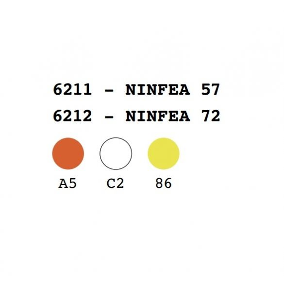 Ninfea 57x29 cm