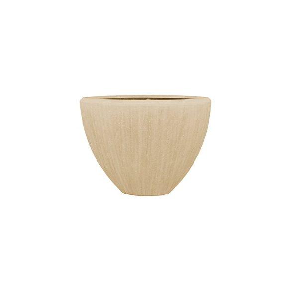 Polystone Oval Natural kaspó