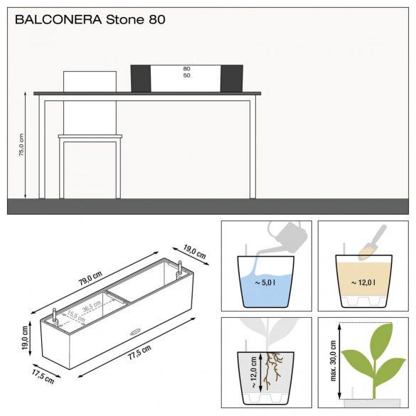 Lechuza Balconera Stone 80 cm
